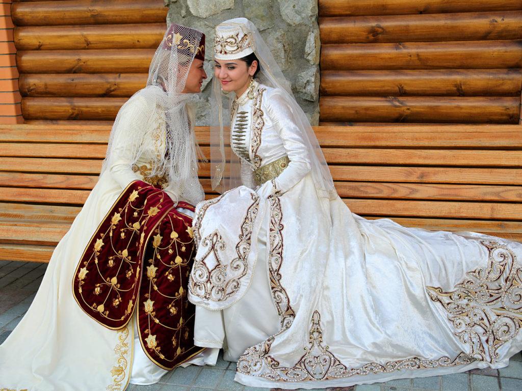 Фото татарских свадебных платьев