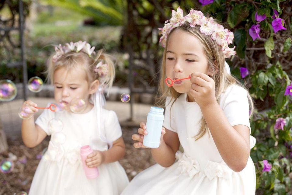 Как занять детей на свадьбе?